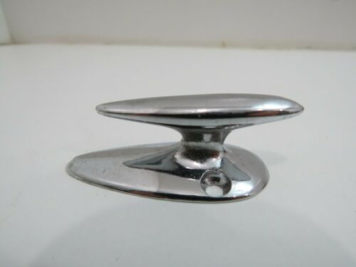 2 INCH  RETRO CHROME OVER BRONZE CLEAT BOAT DOCK (D2A964)