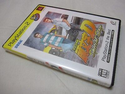 7-14 Days to USA. USED PS2 New Edition Initial D Special Stage Japanese Version