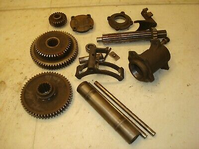 1940 Ford 9n Tractor 3 Speed Transmission Gears Forks Parts 2n