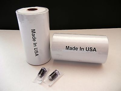 Two Sleeves White Labels For Monarch 1115 2 Sleeves