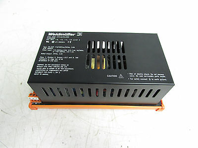 Weidmuller Rs-snt990937 Power Supply 115230vac 24vdc 5a Xlnt