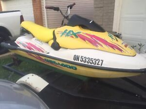 1996 Seadoo HX with trailer and built in sound system 2000 OBO