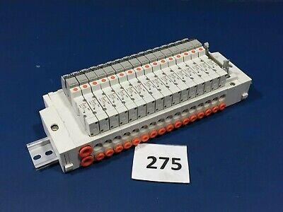 Smc Ss5y3-ulb970079-16 16 Port Pneumatic Manifold 5y3140-sfu 0.15-0.7mpa