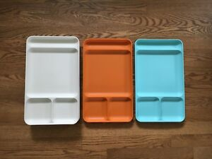 7 plateaux Tupperware vintage trays CAMPING ⛺️