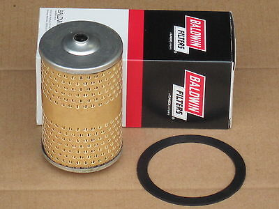 Baldwin Oil Filter With Gasket For Ih International 154 Cub Lo-boy 184 185