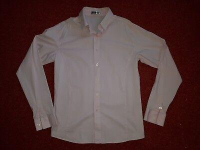 rosa Hemd mit langem Arm, Gr. XL (M/L) slim fit (Rosa Slim Fit Hemd)