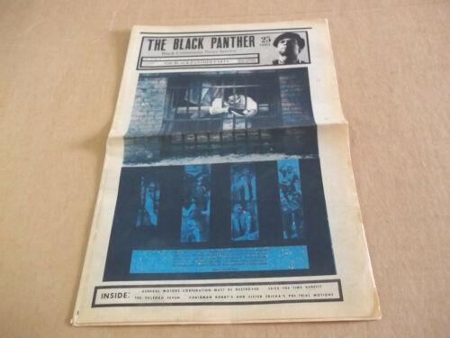 Black Panther Newspaper  Oct. 10, 1970  Huey Newton  VG+