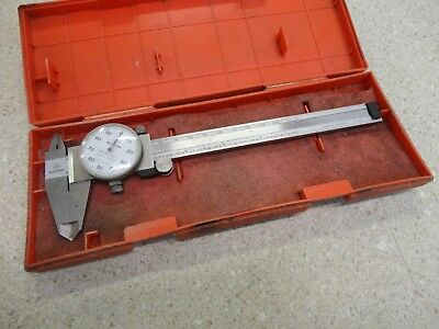 Mitutoyo 6 Inch 505-637-50 Dial Caliper