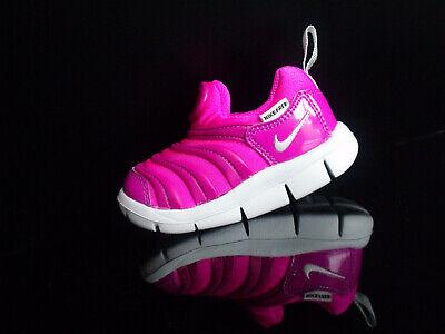 Nike Kinder Schuhe (NIKE DYNAMO FREE Kinderschuhe Lauflernschuhe Slipper pink/purple Gr.19,5)