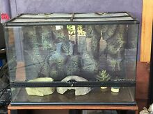 Terrarium vivarium reptile enclosure Exo-terra West Kalgoorlie Kalgoorlie Area Preview