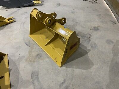 Cat 307 42 Inch Ditching Bucket Caterpillar Mini Excavator Emaq Teran 50 Mm Pins
