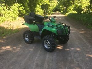 2008 arctic cat 400 4x4 with extras