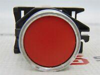 Image Allen-Bradley 800E-3X10 Red Pushbutton w/ N.O. Contact Ser A