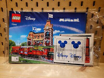 LEGO Instructions Disney Train and Station + Sticker Sheet 71044 - BRAND NEW