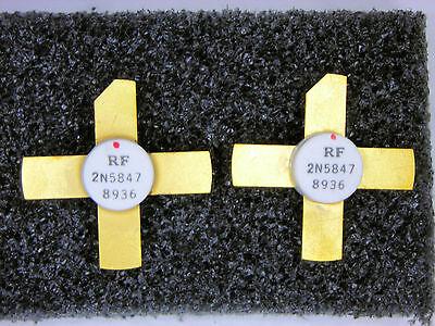 2n5847 Generic Rf Transistors 2 Pcs