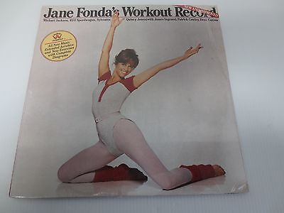 JANE FONDA ~ WORKOUT RECORD / NEW & IMPROVED ~ GATEFOLD ~Factory Sealed Vinyl LP