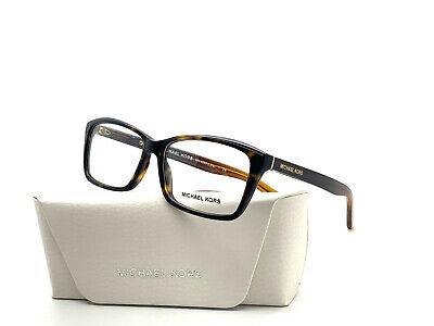 Michael Kors RX MK4038 3217 Dark Tortoise 53[]14 135 Demo lenses RX (Michael Kors Rx Glasses)