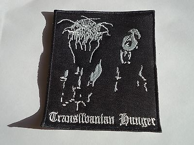 DARKTHRONE TRANSILVANIAN HUNGER EMBROIDERED PATCH