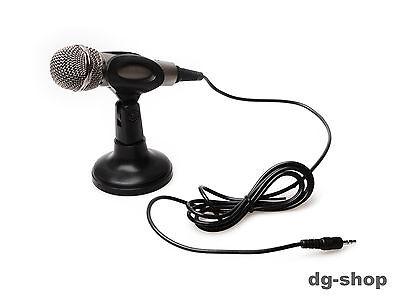 PC Laptop Mikrofon Microfon Microphone MIC für MSN Skype Voip STÄNDER NO-186