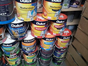 DULUX 4 LITRE INTERIOR /EXTERIOR BASE PAINTS UNTINTED DEEP AND ULTRA-DEEP