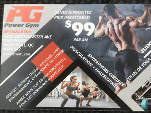 Gym membership limited time 99.00 year
