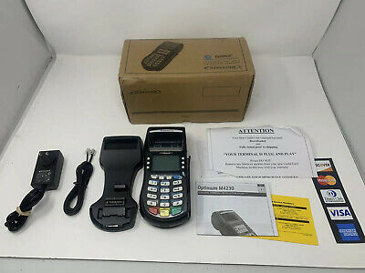 Hypercom Optimum M4230 Wireless Credit Card Terminal D1