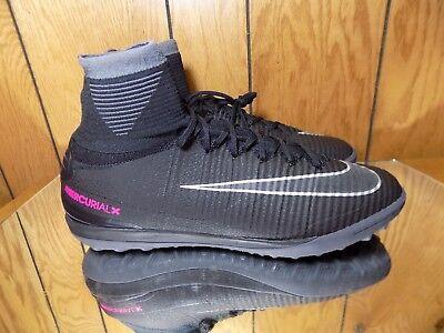 wholesale dealer 3e9e5 28c70 New Nike Mercurialx Proximo II TF Men s SZ 12 Soccer Turf Black 831977-001  BR