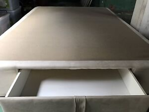 Pillow Top Double Bed with Storage Drawer Coorparoo Brisbane South East Preview