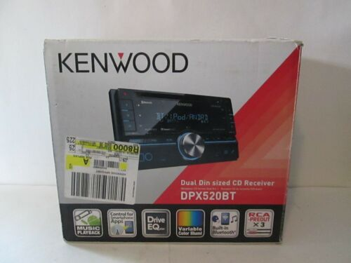 Kenwood dpx520bt car radio stereo NEW open box unused