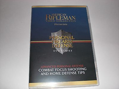 American Rifleman Video Collection Personal Firearm Defense DVD