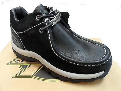 Back to School Boys Women Workmen-V Casual Shoes Nubuck Leather Black - Back To School Boys Shoes