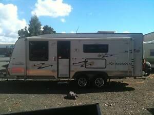 21ft Traveler Sensation Semi off Road Caravan Youngtown Launceston Area Preview