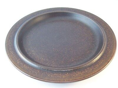 Vintage Arabia Finland Ruska Ulla Procope Pottery Dinner Plate Retired ~ G