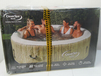 CLEVERSPA BONDI 6 Person Hot Tub Spa.   NEW & SEALED      * FREE 24hr DELIVERY *