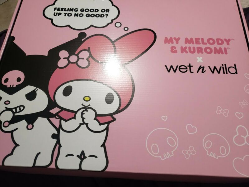 Wet N Wild Sanrio My Melody and Kuromi Makeup Set NEW SEALED SOLD OUT