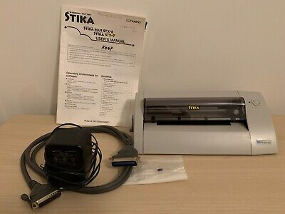Preowned Roland Stika Vinyl Design Cutter Model Stx-7 With Users Manual...
