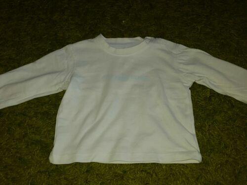 Baby Tshirt Weiß Gr 68 W Neu