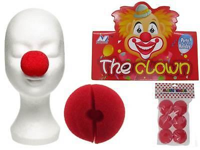 Clown Nase Clownnase rot Schaumstoff Karneval Fasching Clownsnasen Nose Zirkus