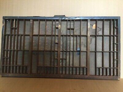 1 Vintage Hamilton Printer's Drawer/Tray/Shadow Box