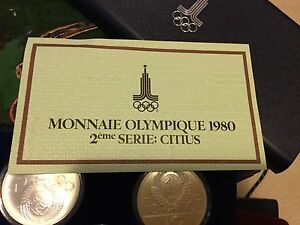 1980 Olympic coins