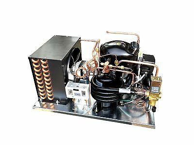 Combo Airwater-cooled Ld Aja2419yxa Condensing Unit 12 Hp Low Temp R134a 115v