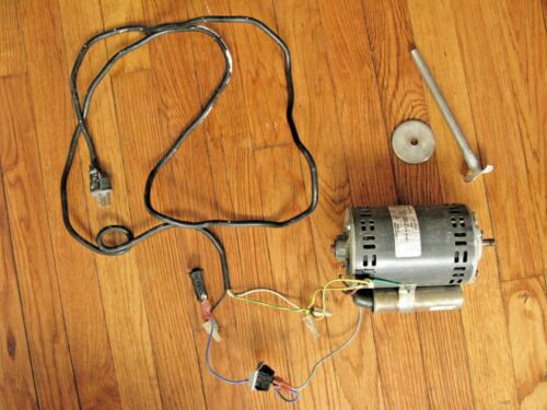 motor with mixer attachment 1/4 HP