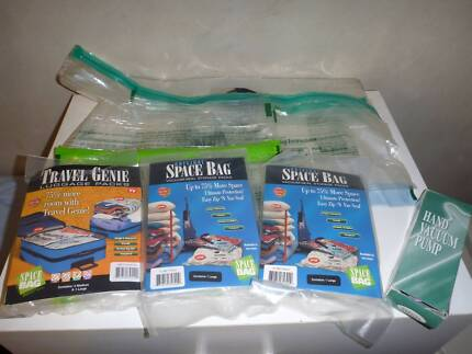 Assorted Space Bags - Vacuum Sealed Storage Bags - Brand New Brighton-le-sands Rockdale Area Preview