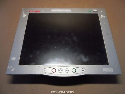 "IND FTF 2485 15"" Touchscreen Terminal Wireless Data PC XP Embedded lic EXCL PSU"