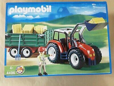 Playmobil 4496,tractor de granja