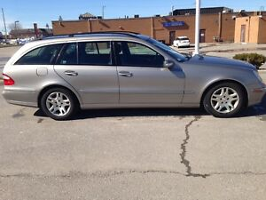 VERY LOW KM Mercedes E320 4 Matic Estate Wagon