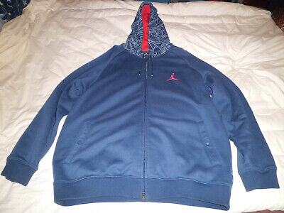 Nike Michael Jordan Jumpman 100% Authentic Hoodie Zip Sweatshirt--Size XL.~Rare~