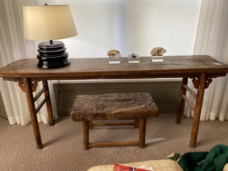 Antique Qing Dynasty Chinese altar table