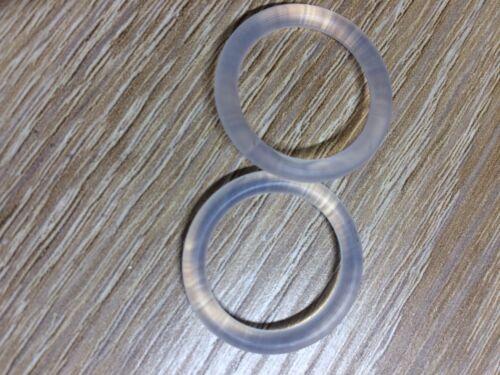 Schnulleradapter Silikonring für Schnuller ohne Ring z.B.MAM   2 Stück =1Preis