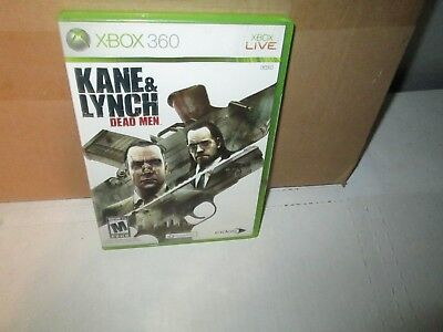 Kane & Lynch : Dead Men 2007 XBOX 360 Game Complete Excellent  for sale  Shipping to India